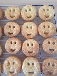 Smiles all round.